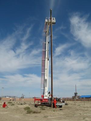 高新技术装备顺利解除克75天然气处理站火炬堵塞隐患