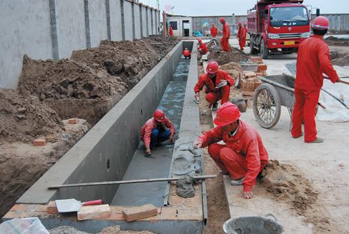 姬塬110kv变电所工程进展顺利(图)