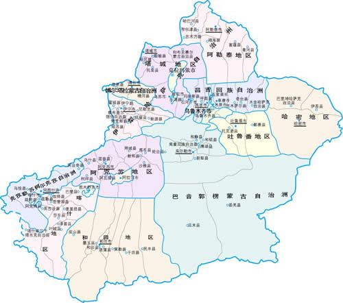 塔城裕民的地图