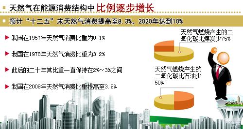 我国天然气在能源消费结构中占比增长快--中国石油