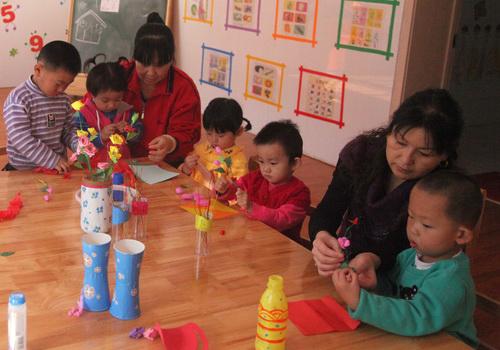 烹饪墙面装饰幼儿园区域