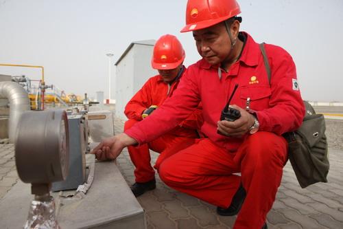 塔里木油田防凝保温--中国石油新闻中心