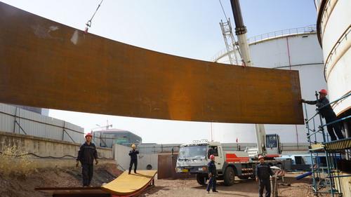 抚顺―锦州成品油输油管线项目全面恢复施工--中国